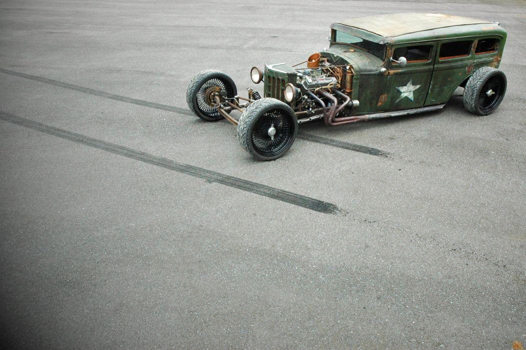 1931 Plymouth Sedan Rat Rod USA 1600x1064-03 wallpaper
