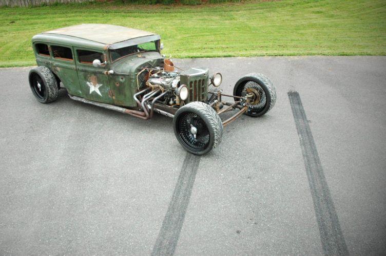 1931 Plymouth Sedan Rat Rod USA 1600x1064-06 wallpaper