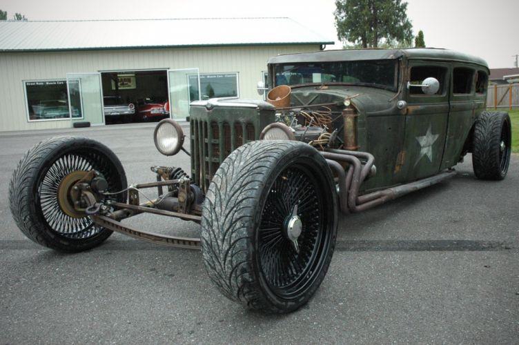 1931 Plymouth Sedan Rat Rod USA 1600x1064-08 wallpaper