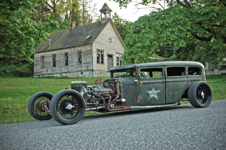1931 Plymouth Sedan Rat Rod USA 1600x1064-07 wallpaper