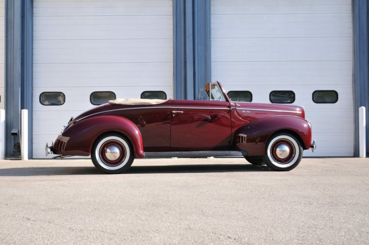 1940 Ford Deluxe Convertible Classic Old Vintage USA 4288x2848-02 wallpaper