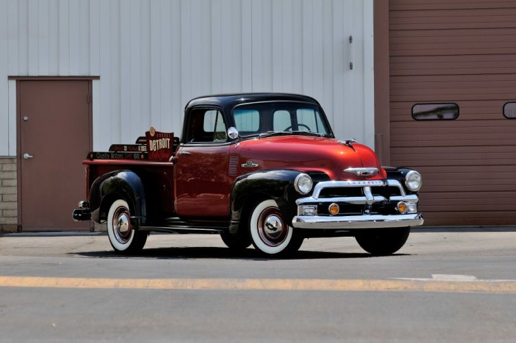 1954 Chevrole 3100 Pickup Classic Old Vintage USA 4288x2848-01 wallpaper