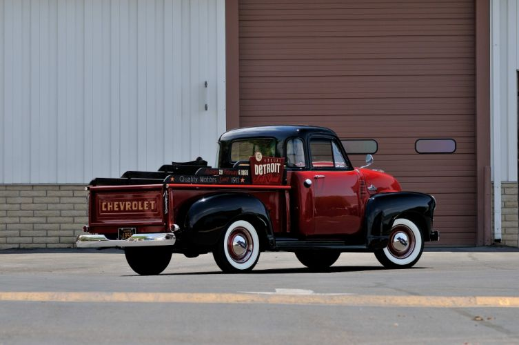 1954 Chevrole 3100 Pickup Classic Old Vintage USA 4288x2848-02 wallpaper