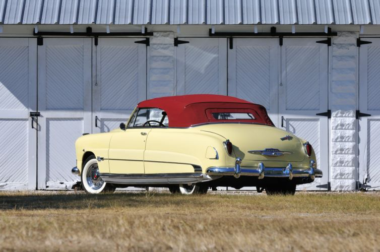 1951 Hudson Hornet Convertible Classic Old Vintage USA 4288x2848-02 wallpaper