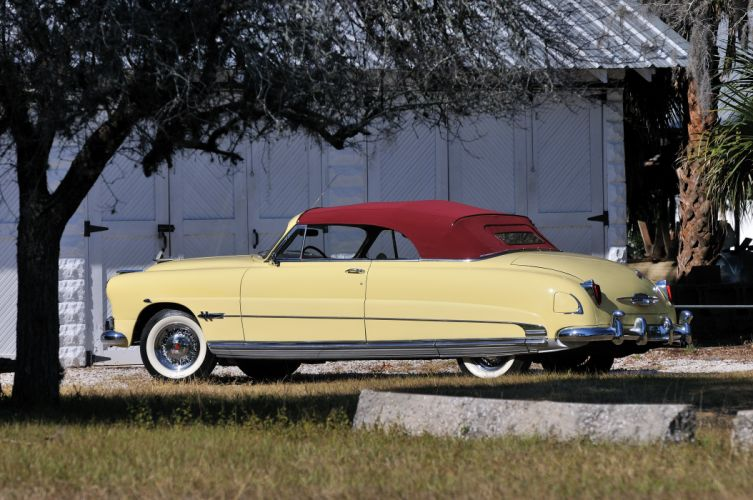 1951 Hudson Hornet Convertible Classic Old Vintage USA 4288x2848-05 wallpaper