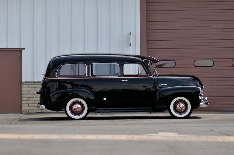 1952 GMC Wagon 2 Door Black Classic Old Vintage USA 4288x2848-04 wallpaper