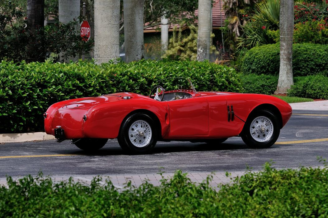 1952 Lazzarino Sports Prototipo Race Car Red Classic Old Vintage Argentina 4288x2848-03 wallpaper