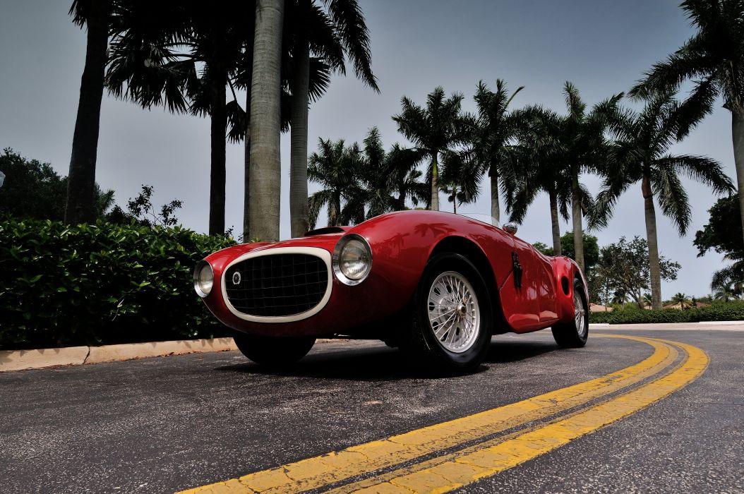 1952 Lazzarino Sports Prototipo Race Car Red Classic Old Vintage Argentina 4288x2848-04 wallpaper