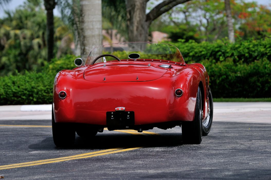 1952 Lazzarino Sports Prototipo Race Car Red Classic Old Vintage Argentina 4288x2848-06 wallpaper