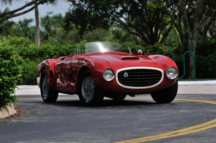 1952 Lazzarino Sports Prototipo Race Car Red Classic Old Vintage Argentina 4288x2848-05 wallpaper