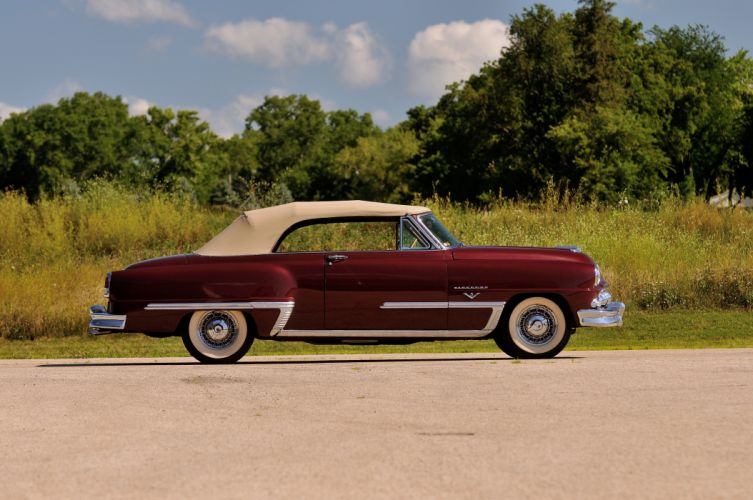 1953 DeSoto Firedome Convertible Classic Old Vintage USA 4288x2848-02 wallpaper