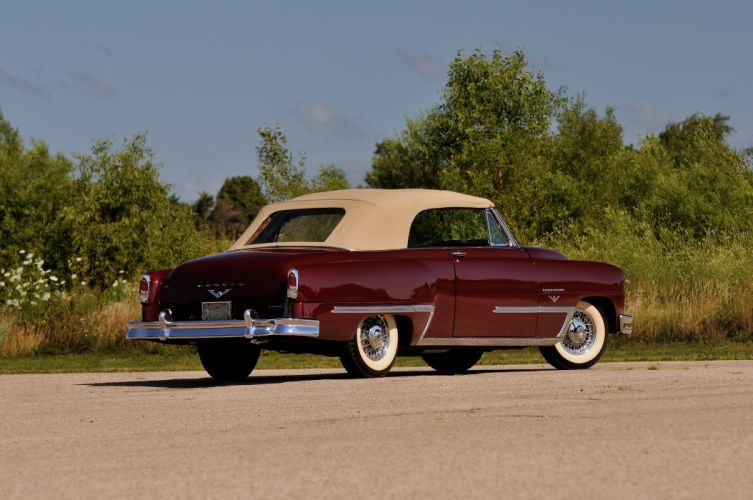 1953 DeSoto Firedome Convertible Classic Old Vintage USA 4288x2848-03 wallpaper