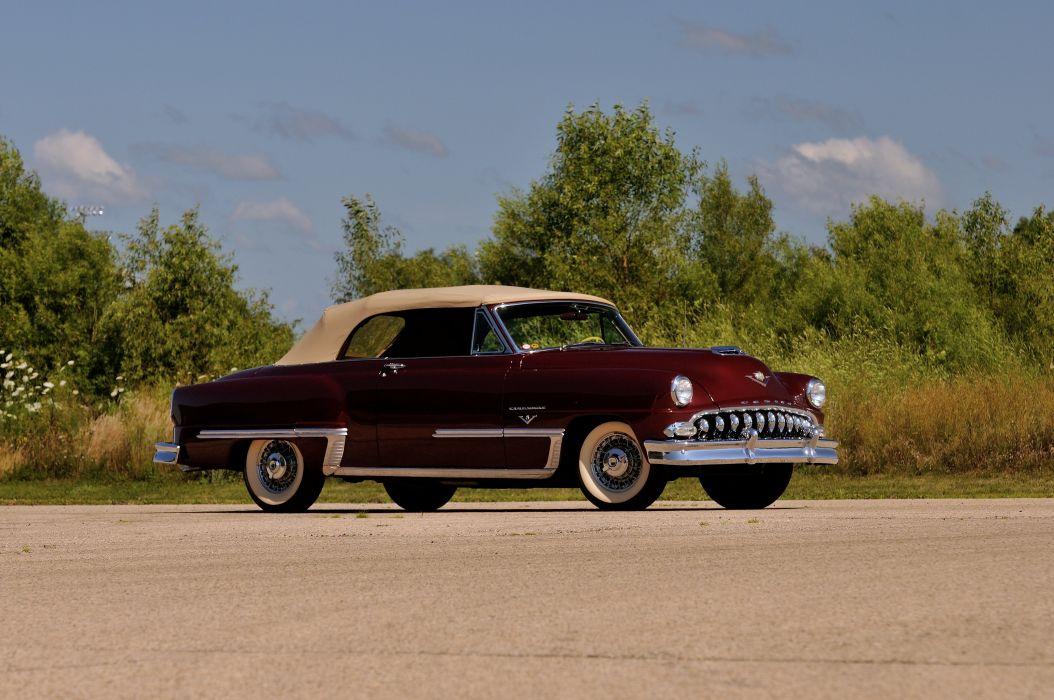1953 DeSoto Firedome Convertible Classic Old Vintage USA 4288x2848-04 wallpaper
