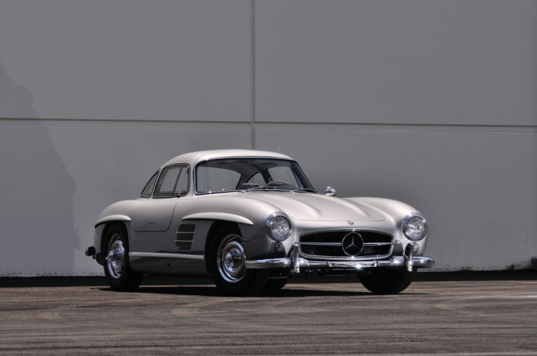 1955 Mercedes Benz 300SL Gullwing Sport Classic Old Vintage Germany 4288x28480-01 wallpaper