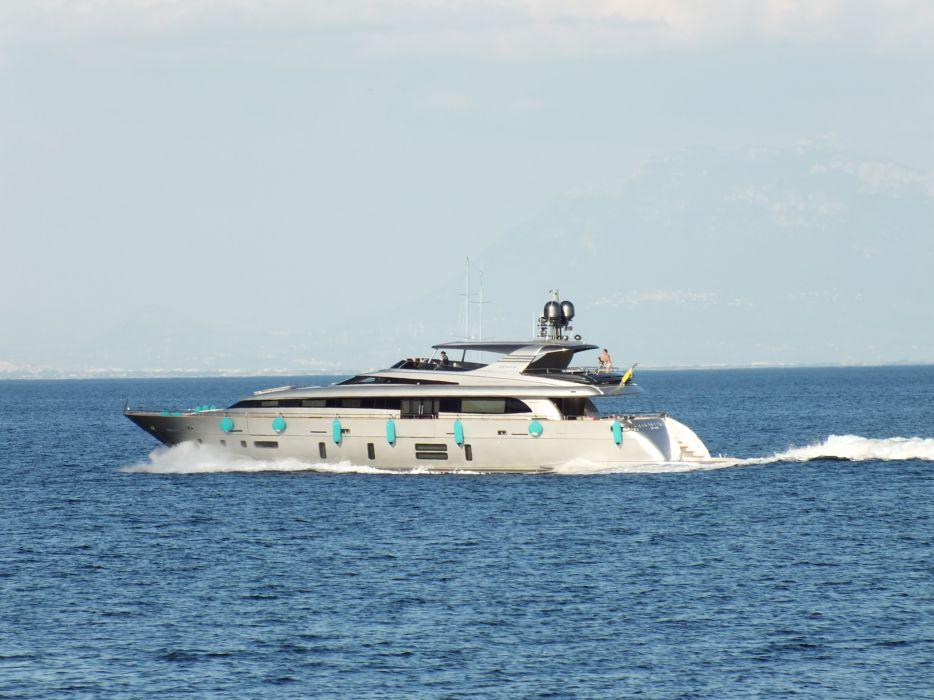 yacht ship sea ocean speed wallpaper