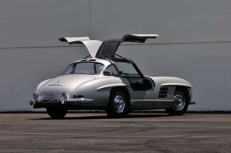 1955 Mercedes Benz 300SL Gullwing Sport Classic Old Vintage Germany 4288x28480-10 wallpaper