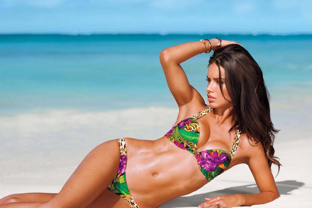 VICTORIA SECRET model models babe sexy fashion style bikini swimwear wallpaper