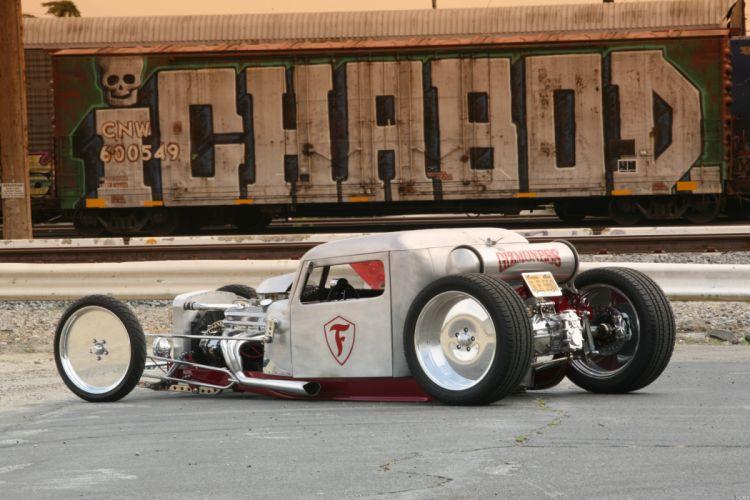 1956 Petebilt Hotrod Hot Rod Low Truck USA 4368x2912-01 wallpaper