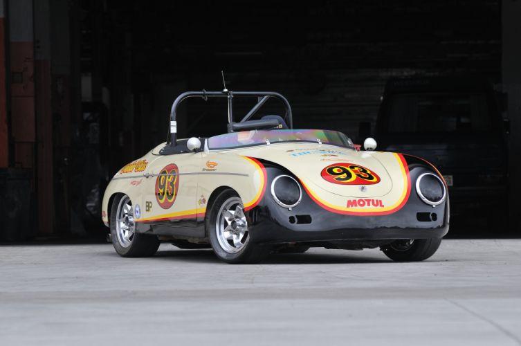 1958 Porsche Speedster Race Car Classic Old Germany 4288x2848-01 wallpaper