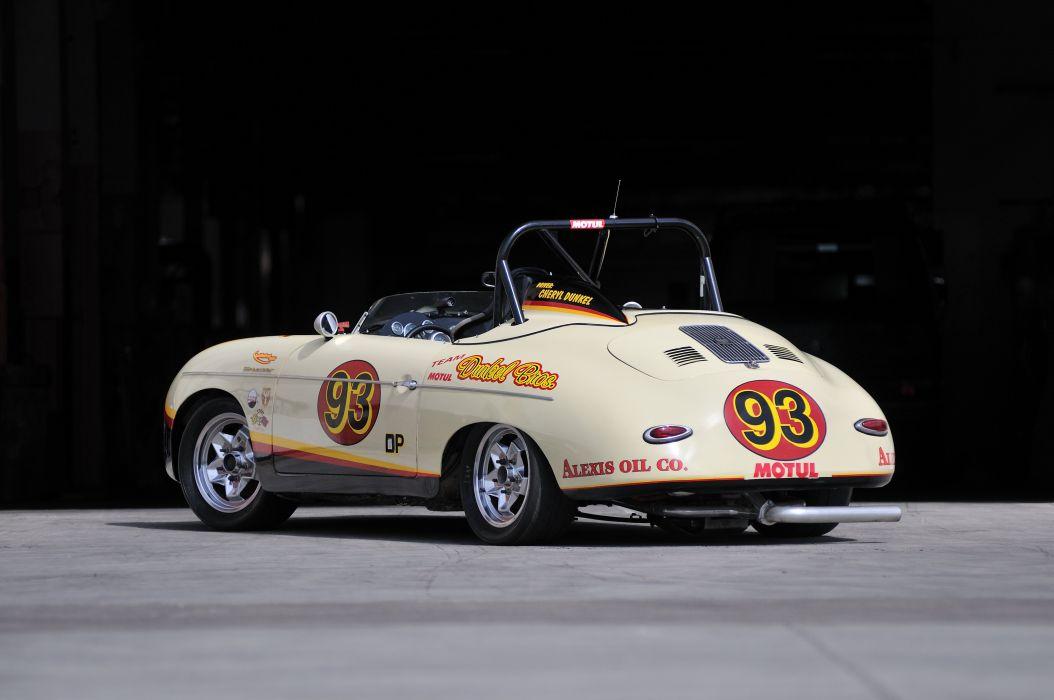 1958 Porsche Speedster Race Car Classic Old Germany 4288x2848-03 wallpaper