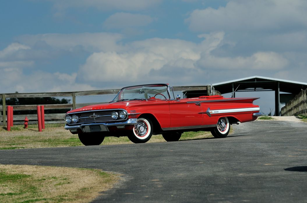 1959 Chevrolet Impala Convertible Classic Old Retro USA 4200x2790-01 wallpaper