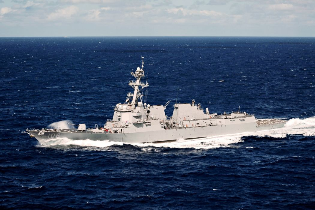 uss stockdale ddg 106 army clouds destroyer frigate Military Royal Sea ship sky watercraft ocean wallpaper