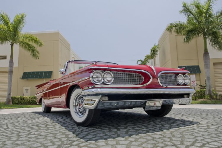 1959 Pontiac Catalina Convertible Classic Old Retro USA 4200x2800-02 wallpaper