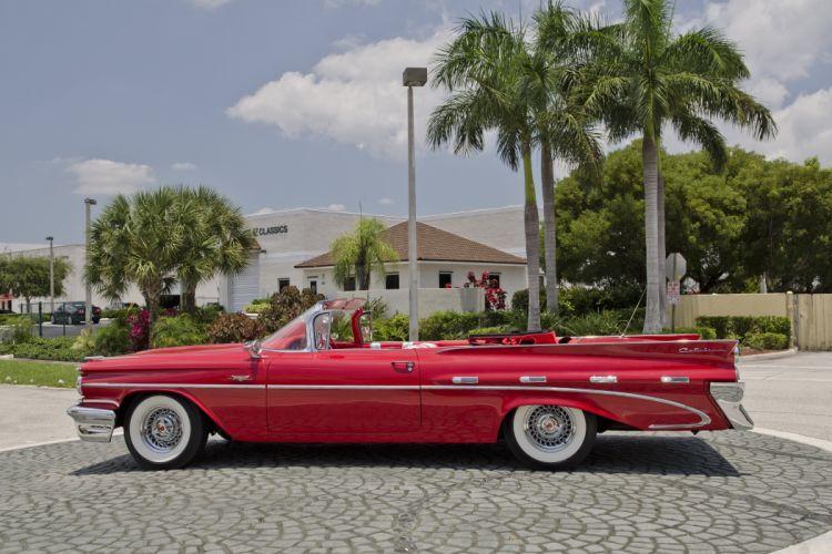 1959 Pontiac Catalina Convertible Classic Old Retro USA 4200x2800-04 wallpaper