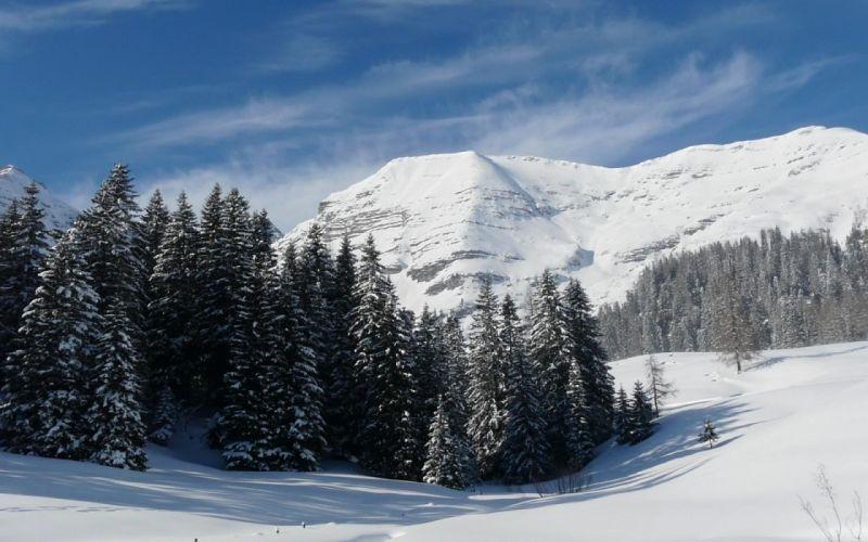mountains landscape nature mountain winter wallpaper