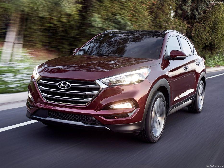 Hyundai Tucson 2016 suv cars wallpaper