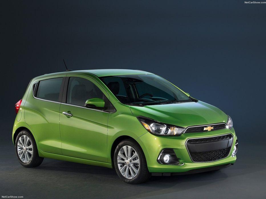 Chevrolet Spark cars 2016 wallpaper