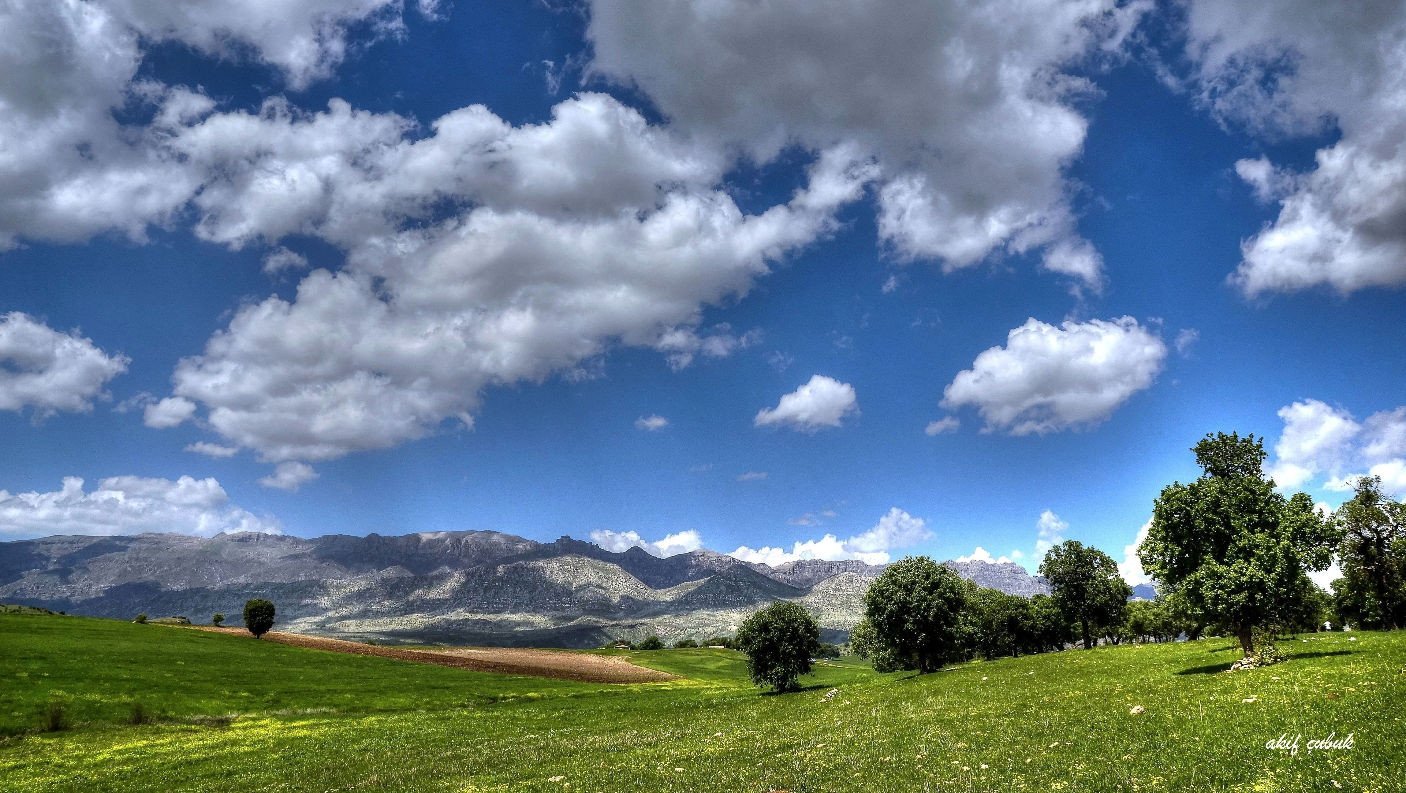 mountains sky light clouds - photo #31