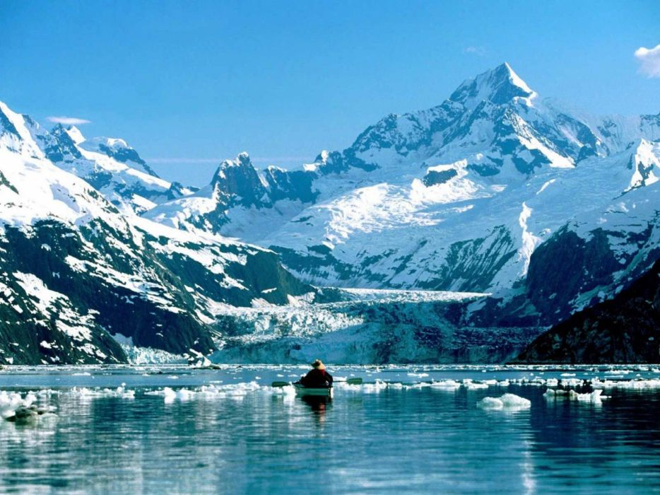 mountains landscape nature mountain ice winter snow fishing wallpaper