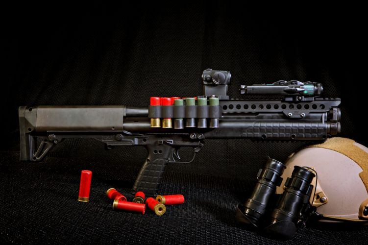 kel-tec drobovik ruzhe oruzhie Gun weapon ammunition bullets gun helmet binoculars wallpaper