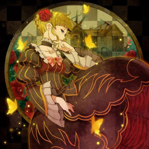 umineko no naku koro ni anime series girl beautiful character beatrice wallpaper