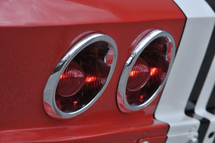 1963 Corvette Z06 Race Car Red Classic Old USA 4288x2848-06 wallpaper