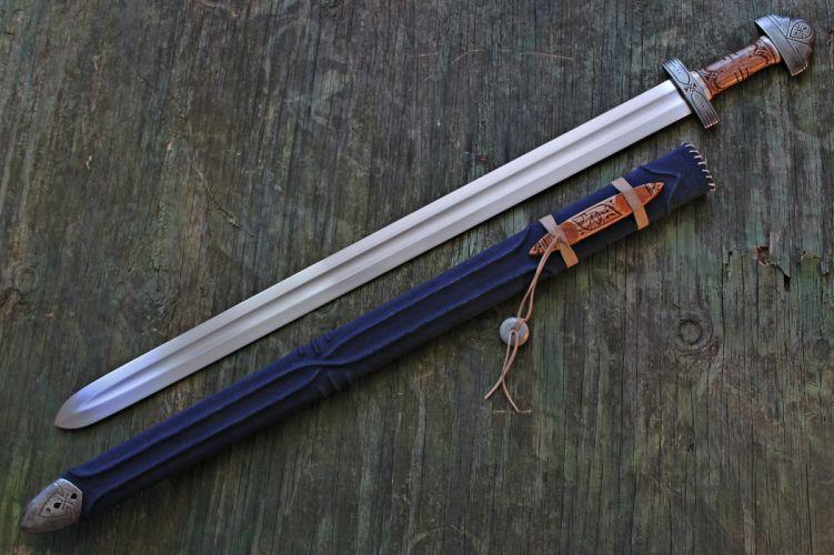 Weapon sword Heritage Old carvings metal mech rukoyatka stal fon wallpaper