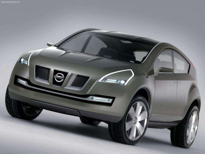 Nissan Qashqai Concept suv cars 2004 wallpaper