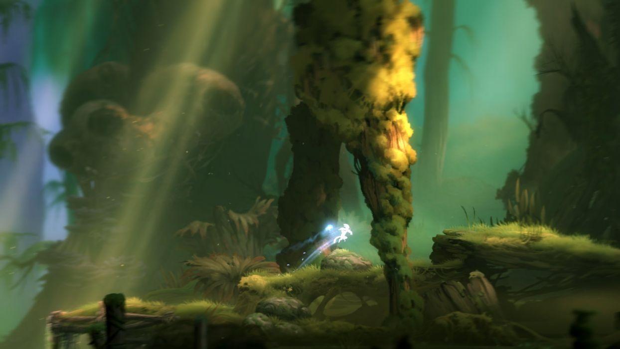 ORI-BLIND-FOREST action adventure rpg ori blind forest fantasy magic 1oribf wallpaper