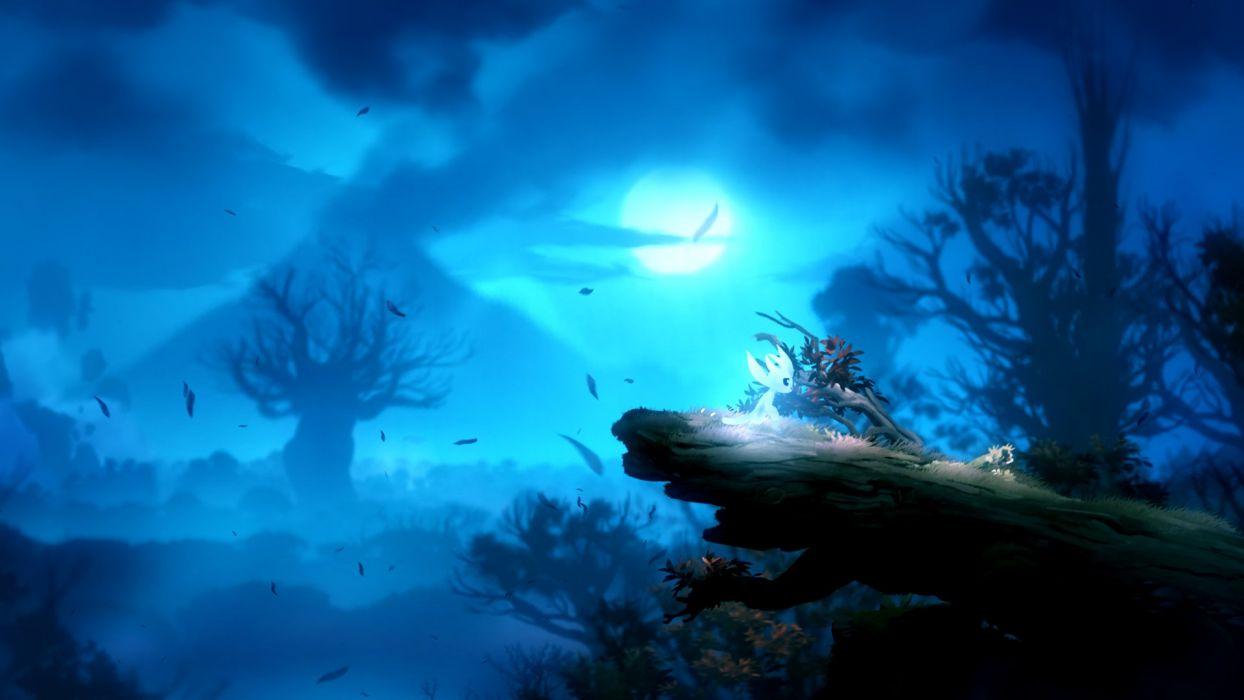 Ori Blind Forest Action Adventure Rpg Ori Blind Forest Fantasy