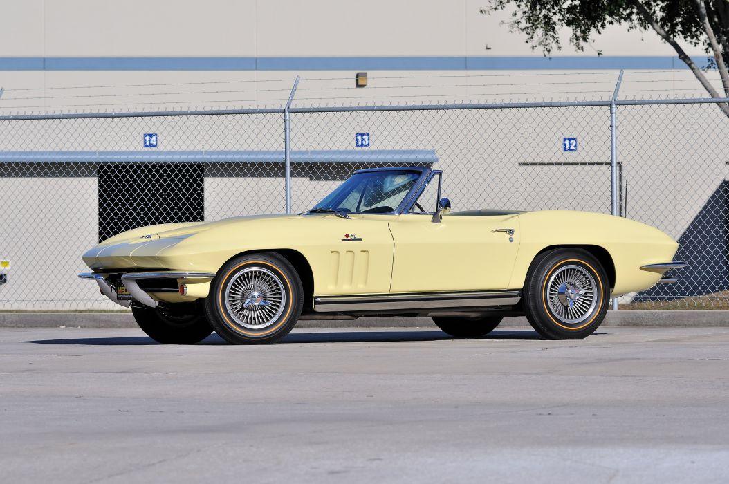 1965 Chevrolet Corvette Stingray Convertible Classic Old USA 4288x2848-01 wallpaper