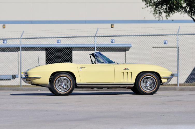 1965 Chevrolet Corvette Stingray Convertible Classic Old USA 4288x2848-02 wallpaper