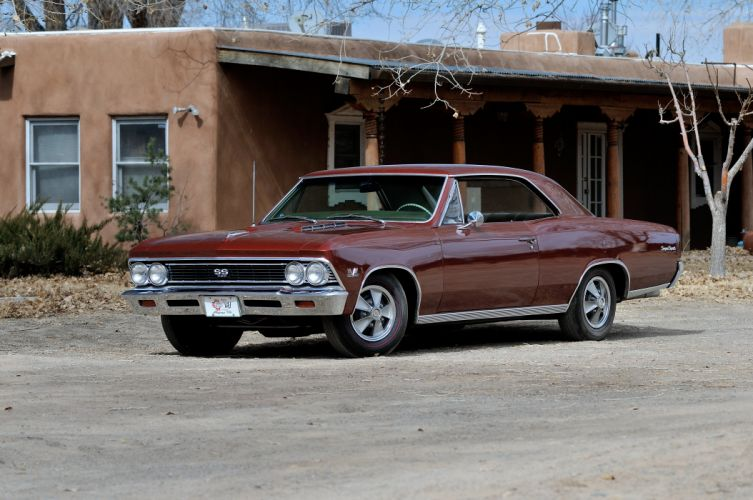 1966 Chevrolet Chevelle SS Muscle Classic Old USA 4288x2848-01 wallpaper