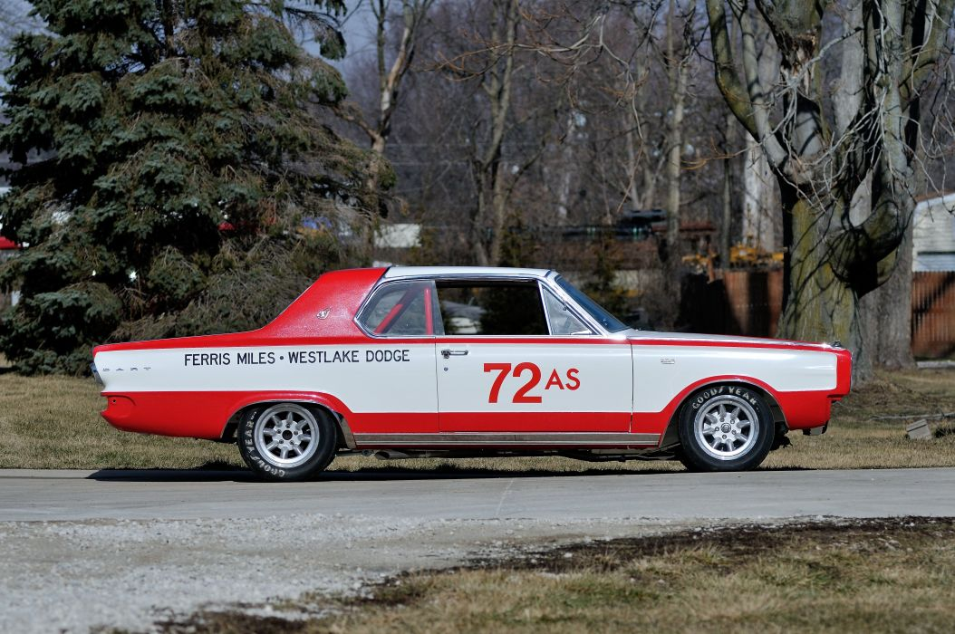 1966 Dodge D Dart Rece Car Muscle Classic USA 4200x2790-02 wallpaper