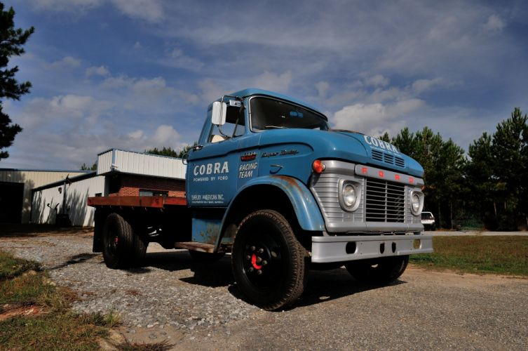 Shelby Ford Trucks >> 1966 Ford Truck CS500 Shelby Racing Transporter Blue Classic Old USA 4288x2848-01 wallpaper ...
