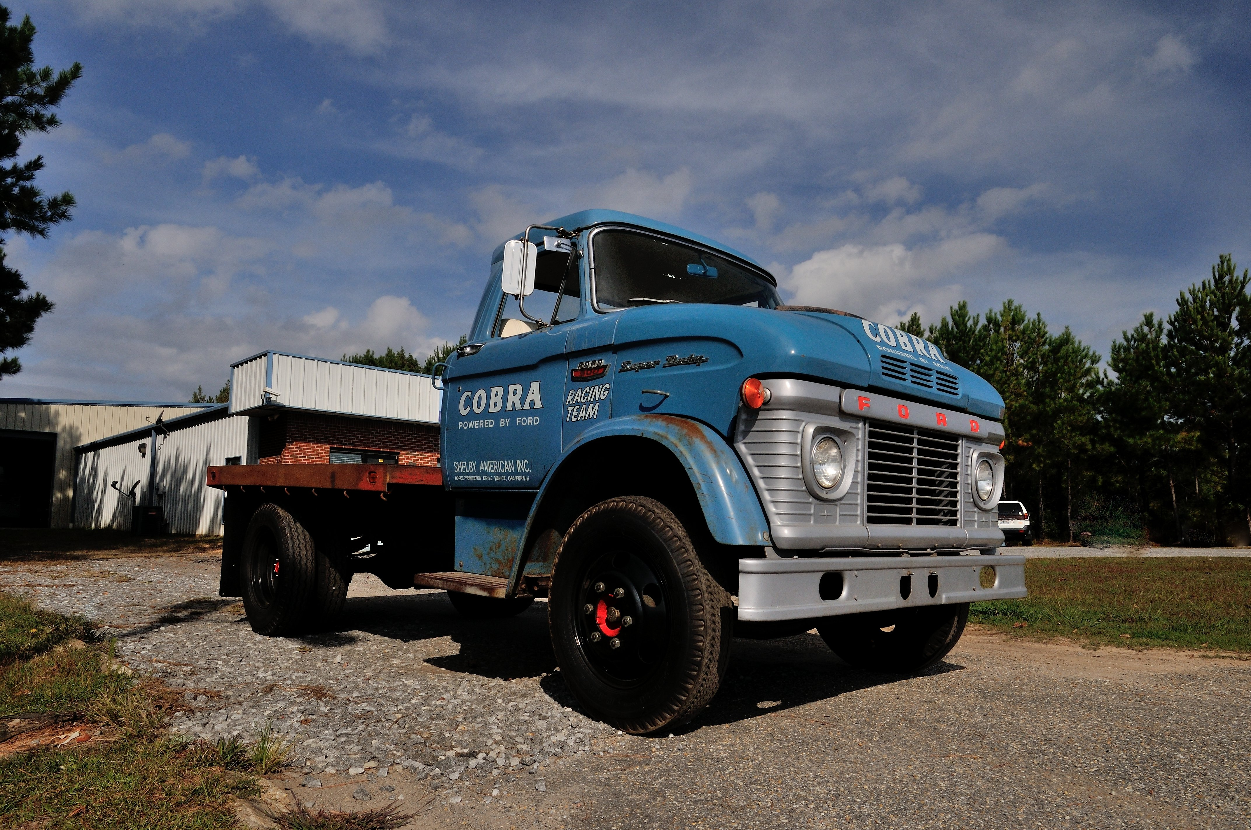 1966 Ford Truck CS500 Shelby Racing Transporter Blue ...