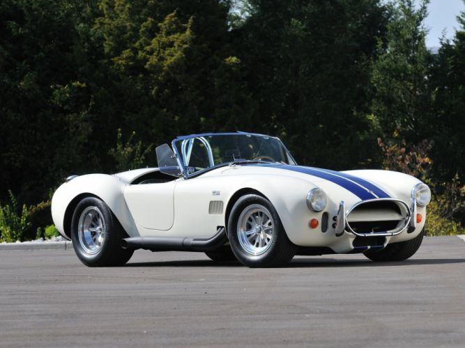 1966 Shelby Cobra 427 Roadster White Sport Classic Old USA 4288x3210-03 wallpaper