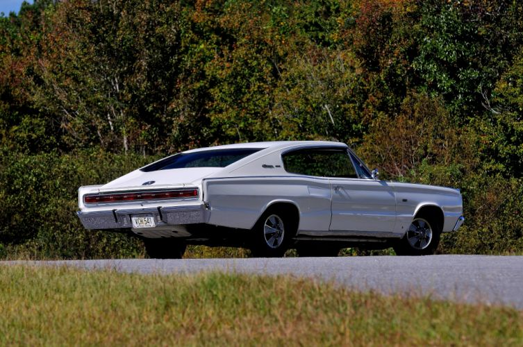 1967 Dodge Hemi Charger Muscle Classic White USA 4200x2790-03 wallpaper