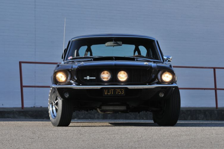 1967 Ford Mustang Shelby GT350 Black Muscle Classic Old USA 4288x2848-04 wallpaper