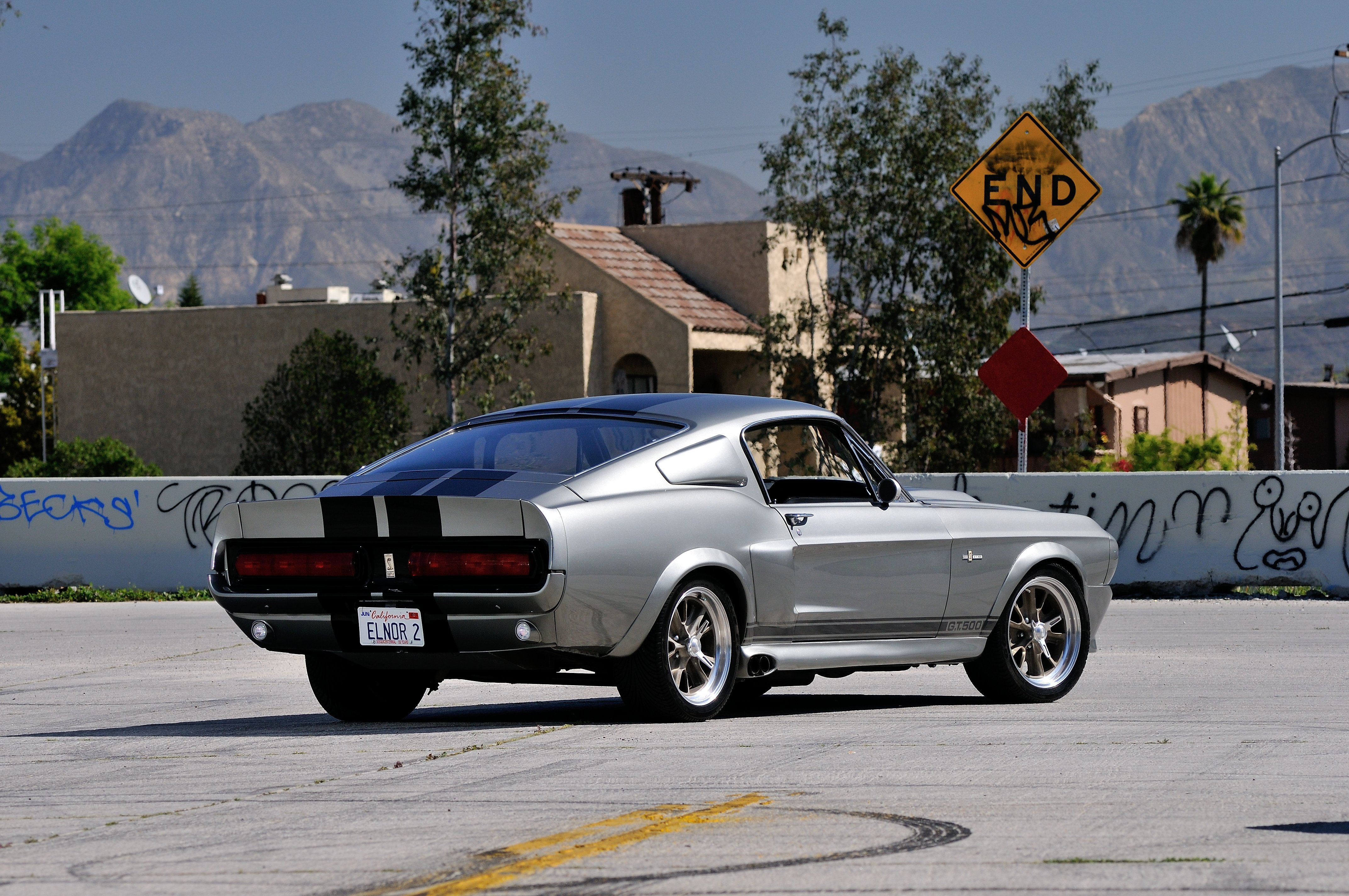 Ford Mustang Shelby Gt500 Eleanor 1967 Usata